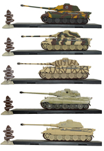 1/72 Tiger 2-Wallonia 1944 Diecast Atlas World War II Tank Military Models недорого