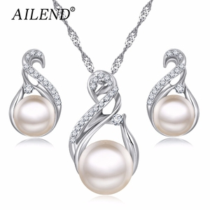 AILEND Trendy Jewelry Sets Wed