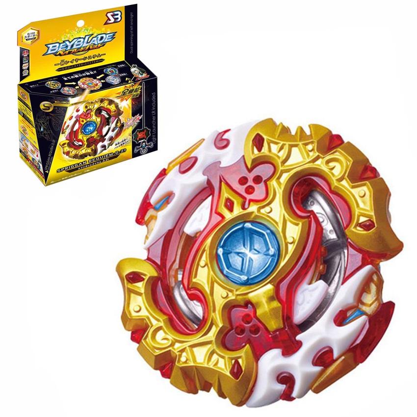 12 Stlyes New Spinning Top Beyblade BURST B-100 With Launcher And Original Box Metal Plastic Fusion 4D Gift Toys For Children F3