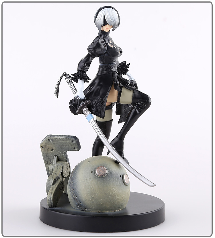 PS4 Game anime figure NieR Automata YoRHa No. 2 Type B 2B Cartoon Toy Action Figure Model Doll Gift