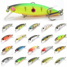 wLure 4.5g 5.9cm Tiny Sinking Minnow Carp Fishing Lure Fresh Water Use Wild Wobble Bronzing and Plating Painting M639