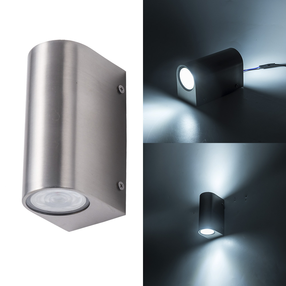 Free shipping LED Wall Light Outdoor Porch Garden Wall Lamp stainless steel Home Sconce Indoor Decoration Lighting