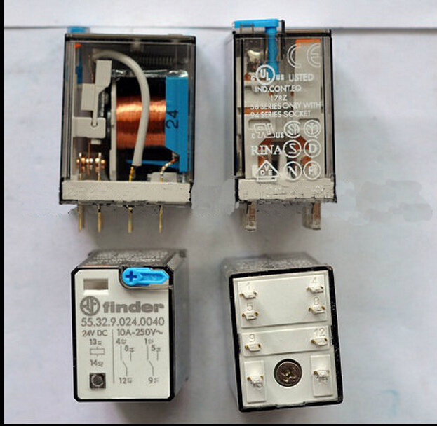 все цены на HOT NEW relay 55.32.9.024.0040 24VDC 55.32.9.024.0040-24VDC 10A 250V finder DIP8 2pcs/lot в интернете