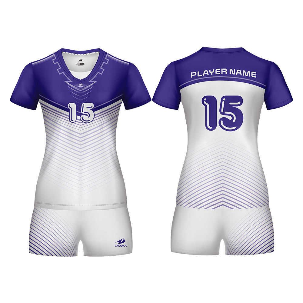2019 Shirts Volleyball Jersey Rops De Voleibol Volleyball Clothes For Girls Voleibol Camisetas Customized Volleyball Uniform Aliexpress