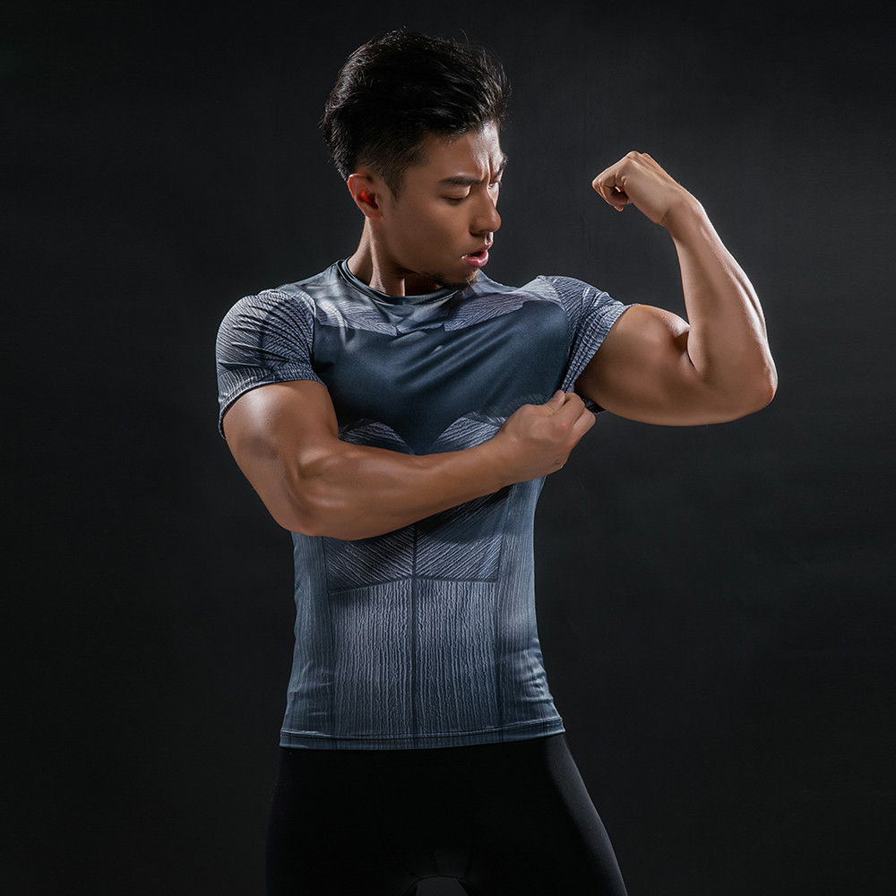 Punisher 3D Printed T-shirts Men Compression Shirts Long Sleeve Cosplay Costume crossfit fitness Clothing Tops Male Black Friday 113
