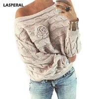 LASPERAL 2017 Autumn Winter Casual Twist Knitted Sweater Women Fashion Long Sleeve Sweater Femme Faloral Streetwear