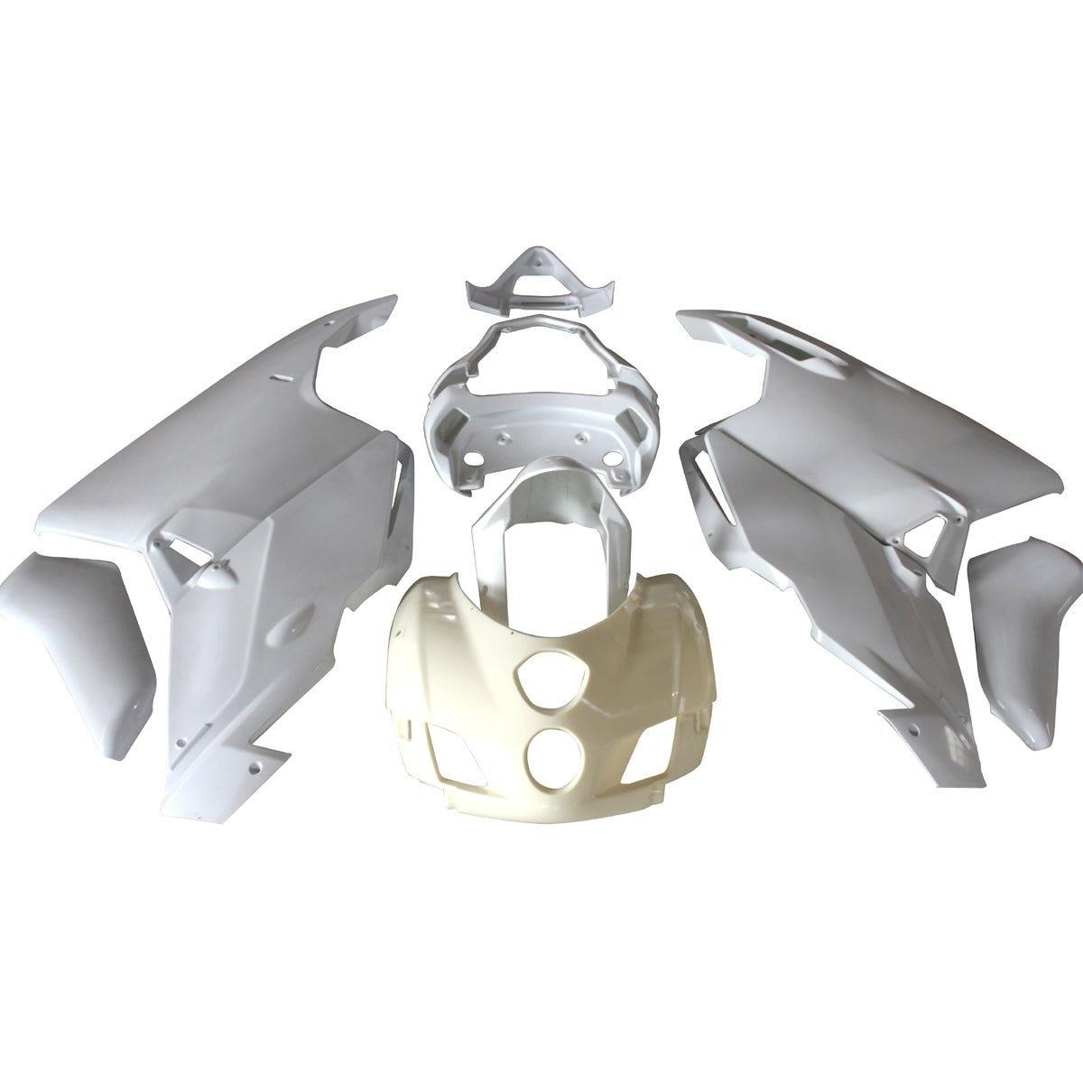 Motorcycle Unpainted Bodywork Fairing Kit For Ducati 999 / 749 2005 2006 05 06 Injection Molding Fairings Cowl Case ABS Plastic custom design monster color top grade quality injection mold fairings bodywork for ducati 999 749 03 04 kits
