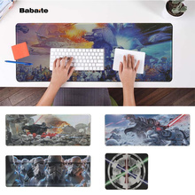 Babaite Funny Star War  Natural Rubber Gaming mousepad Desk Mat PC Computer
