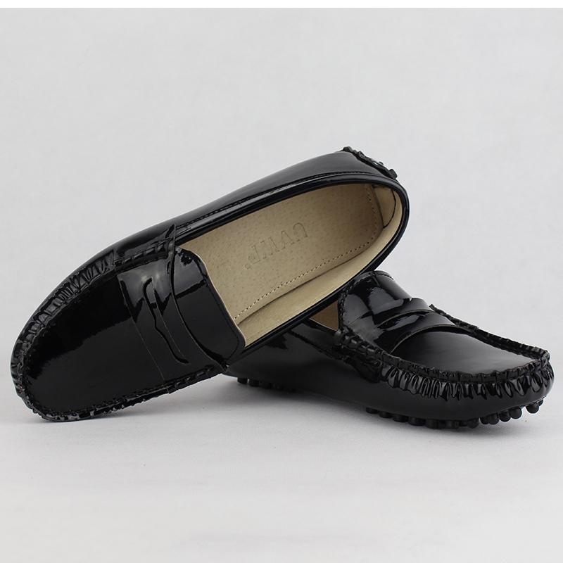 Image 4 - New Design Women Flat Shoes Pu Leather Women Flats Driving Shoes Comfortable Soft Moccasins Fashion Casual Leather Shoes-in Women's Flats from Shoes