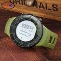 2016 Ohsen 2821 Мужчины Спорт Военные Часы Марка Мода Повседневная Наручные Часы мужская Цифровые Часы (зеленый) Горячая Продажа
