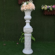 Wedding Roman column led the new silk flower pot holder wedding props supplies opening basket c
