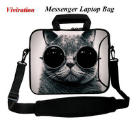 Voor Samsung Galaxy Note Voor Apple iPad Air ThinkPad Netbook Tablet PC Cover Case 10 10.1 10.2 9.7 10.5 Viviration Messenger Bag