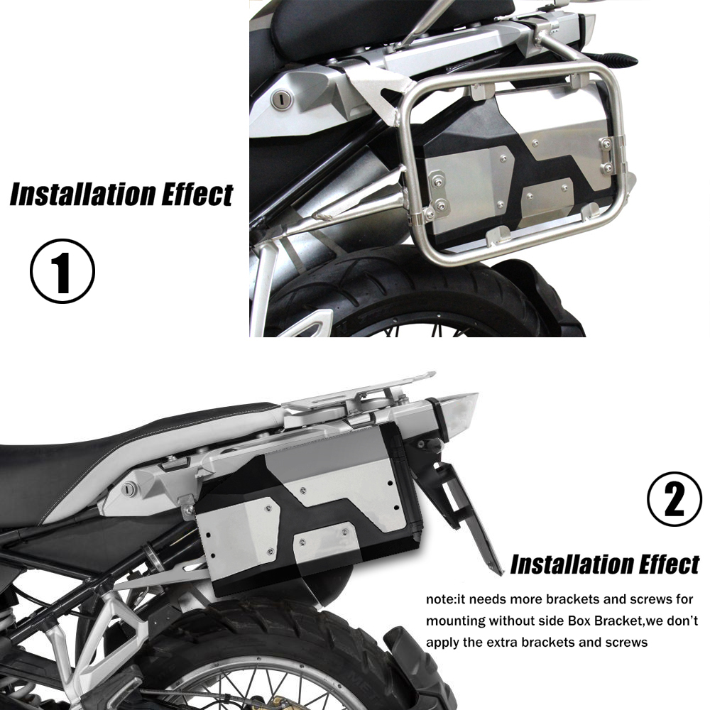 Image 4 - New Arrival! Tool Box For BMW r1250gs r1200gs lc & adv Adventure 2002 2008 2018 for BMW r 1200 gs Left Side Bracket Aluminum box-in Covers & Ornamental Mouldings from Automobiles & Motorcycles