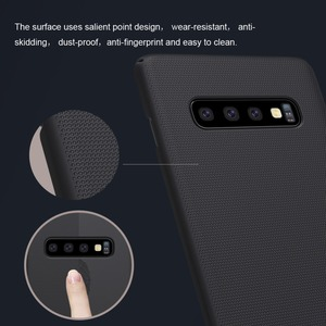 Image 3 - 10pcs/lot wholesale NILLKIN Super Frosted Shield matte PC hard back cover case for Samsung Galaxy S10 case