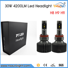 Best Price!!! 2x H8 H9 H11 LED 30W 4200lm White Car DRL Daytime Running Driving Fog Headlight Xenon White Ultra Bright