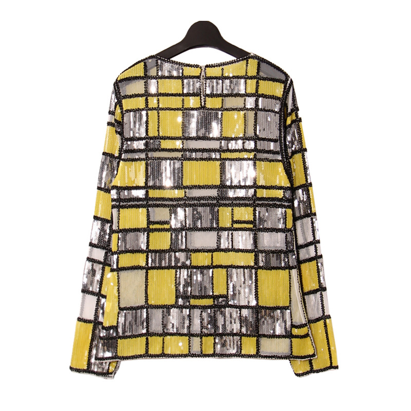 Europäische Marke Design hochwertige quadratische glänzende - Damenbekleidung - Foto 3