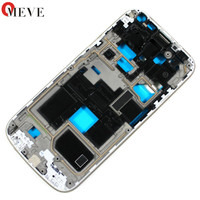 20pcs Lot New White Blue Front Housing Frame Bezel For Samsung Galaxy S4 Mini GT I9195