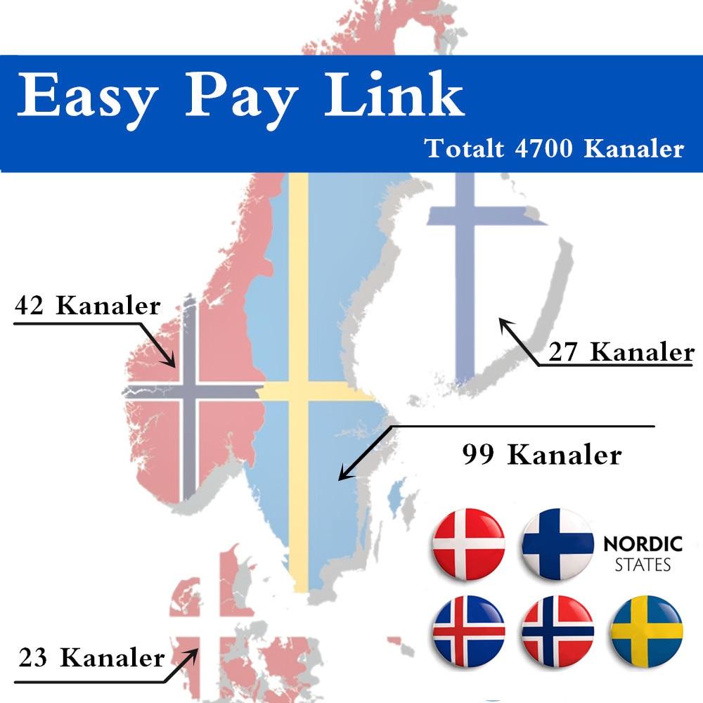 Best Scandinavian IPTV 4700 Channels in total Swedish Norwegian Danish IPTV 190 Scandinavian channels Sweden Norway Denmark IPTV swedish studies in european law volume 1 2006