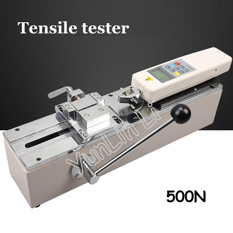 Manual Horizontal fuerza manómetro arnés Rerminal tensión probador Tensile prueba máquina HPH