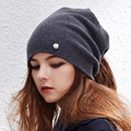 New Arrival 2 Us Faux Wool  Fur Cap Knitted Scarf & Winter Hats for Women Beanies Women Hip-hop Skullies Girls Gorros Femme MI32