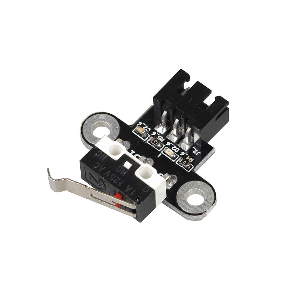Peças de Impressora XCR3D 3D Módulo Horizontal Tipo de Fim De Curso Interruptor de Limite Mecânico Com 1 M Cabo Para DIY Reprap Motherboard Ramps1.4