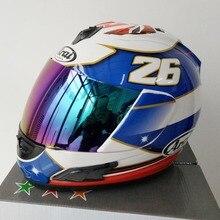 ARAI RX-7X LE шлем мотоциклетный шлем RX-7 ЕС/CORSAIR-X США МОМ TT полный уход за кожей лица Motocoss гоночный шлем