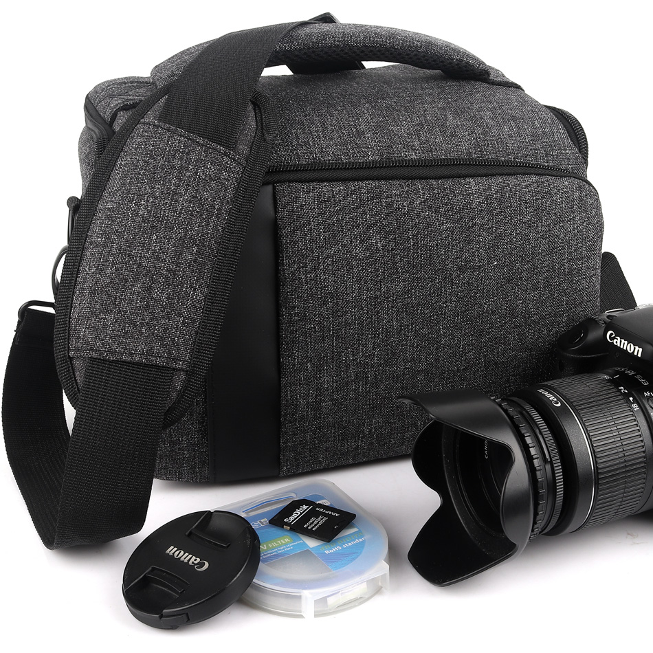 Waterproo Camera Bag Case for <font><b>Canon</b></font> <font><b>Powershot</b></font> SX60 SX50 SX40 SX30 <font><b>SX20</b></font> SX540 SX530 SX520 SX510 SX500 HS SX420 SX410 SX400 <font><b>IS</b></font> image