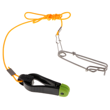 Power Grip Plus Downrigger Line Release Stacker Clips With 42cm Leader and Snap for Downrigger Outrigger Boat Kite Fishing pack of 4 kayak boat trolling clip outrigger release downrigger boat fishing bait line release