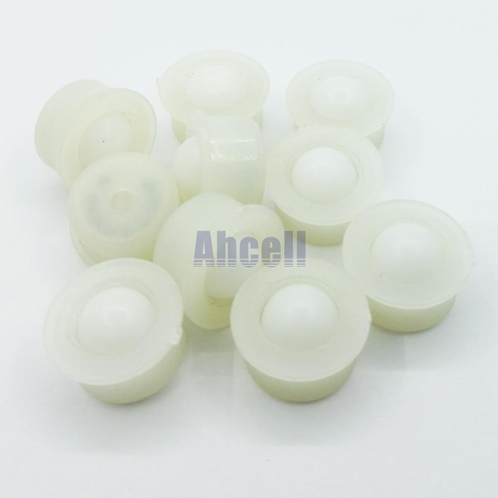 10pcs NL-8H 8mm Miniature POM Ball Full Plastic Bearing Transfer ABS Nylon Caster Roller Smallest Mini NL8H Ball Transfer Unit