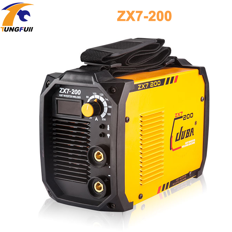 Tungfull Electric arc welder inverter Electric Welding Machine 200A IP21S arc welder inverter for Welding Working and Electric portable arc welder household inverter high quality mini electric welding machine 200 amp 220v for household