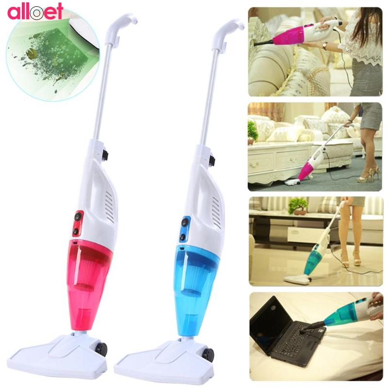 Ultra Quiet Mini Home Rod Vacuum Cleaner Portable Dust Collector Home Aspirator Handheld Vacuum Cleaner ultra quiet push rod vacuum cleaner portable dual use handheld dust collector mites killing device high power home aspirator