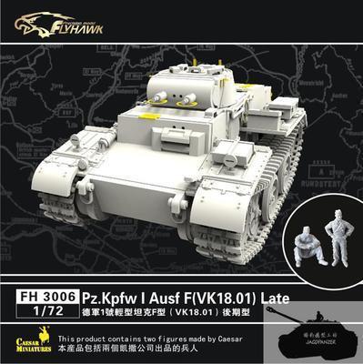 Flyhawk FH3006 1/72 pz. Kpfw I Ausf F ( VK18.01 ) поздно