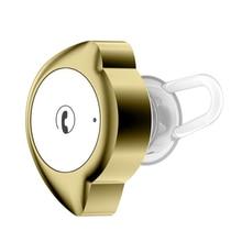 GIAUSA Mini wireless cordless V4.1 Bluetooth  earphone anti-sweat for sport small light half-moon shape microphone headset
