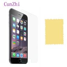 หน้าจอป้องกัน 3 PCS สำหรับ Apple iPhone X 4 S 5 S SE 5 6 7 8 XR XS MAX Ultra Slim HD ป้องกันฟิล์มสำหรับ iPhone 6 S 6 7 8 Plus