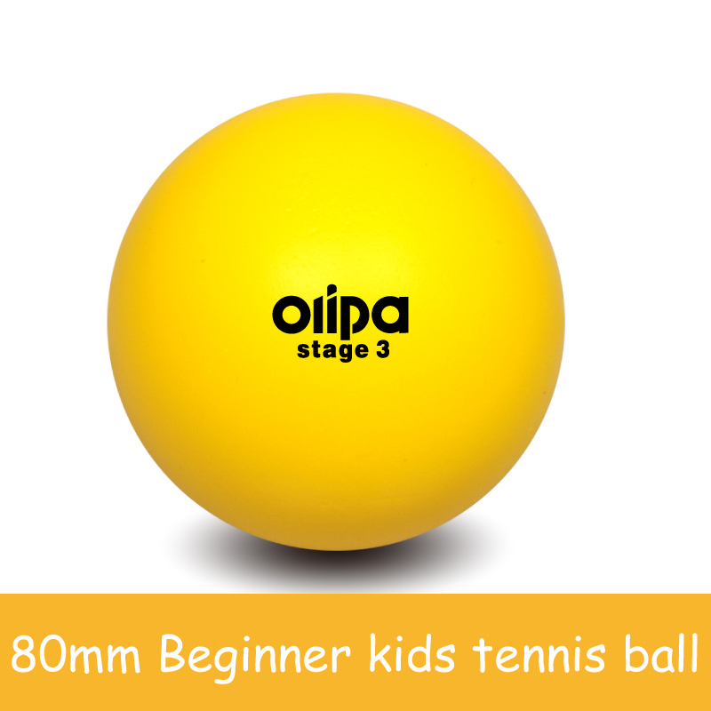 80mm Beginner Kids Child Children Young Sponge Soft Safety Safe Tennis Balls