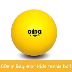 80mm Iniciante crianças criança crianças jovens esponja macia Bolas De Tênis de segurança seguro
