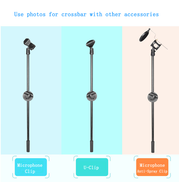 Photo Studio Shooting 67cm Boom Arm Wheel Clamp Ball Head Phone Hoder Clip Cross Bar Portable Phone Photography Accessories