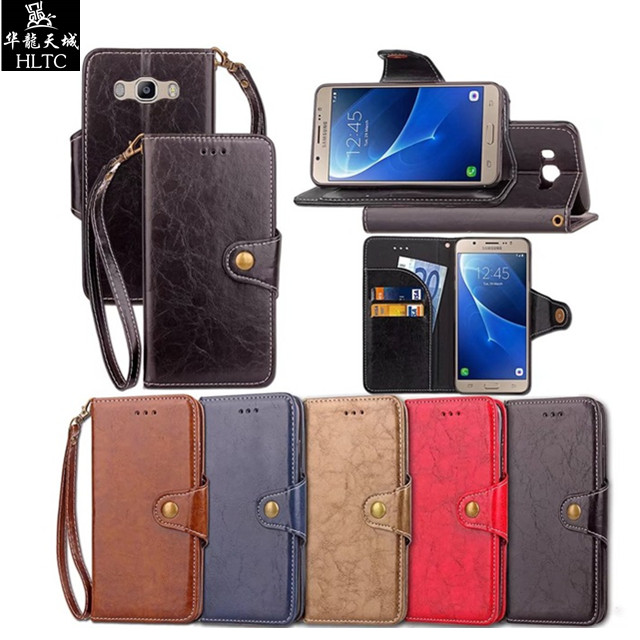 huge discount f712c 22de0 US $5.36 |For Samsung Galaxy J7 2016 Case Leather & Silicone Flip Cover  Phone Cases Samsung Galaxy J7 6 Cases For Samsung J7 2016 Cover-in Flip  Cases ...