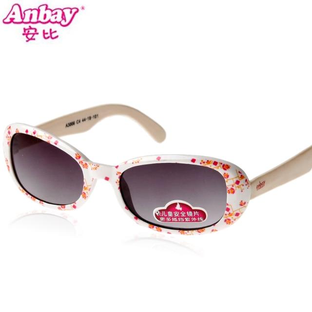 Womanhood anbi sunglasses female fashion ploughboys child glasses 3 - 8 3006