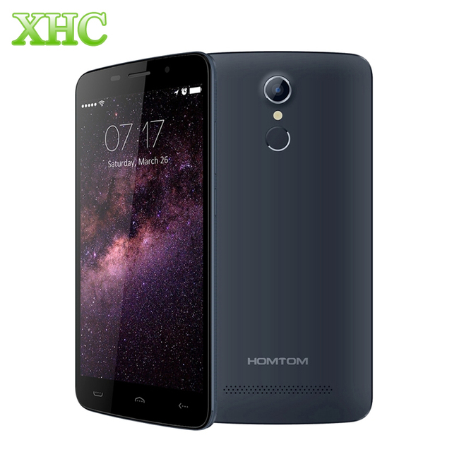 Free Gift HOMTOM HT17 HT6 8GB Touch ID LTE 4G 5.5''Android 6.0 MT6737 QuadCore 1.1GHz RAM 1GB 3000mAh Fingerprint Cellphone
