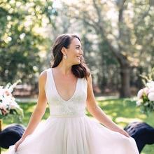 saf sid Wedding Dress 2019 Beach Wedding Dresses Sleeveless