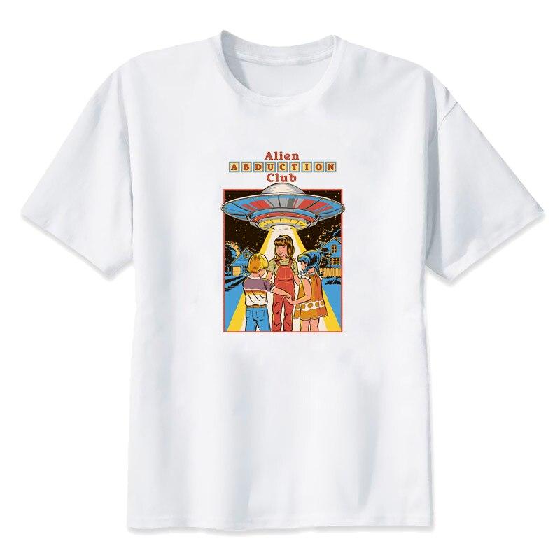 Gepäck & Taschen Taschen Mit Griff Oben Humor Ailen Abduction Club Gedruckt Vogue T-shirts Sommer Kurzarm Overszie T Hemd Harajuku Ulzzang Kleidung T Shirt Frauen