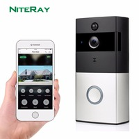 New Arrival door video intercom phone IP cloud P2P wireless door chime wifi door phone camera door bell smart home security