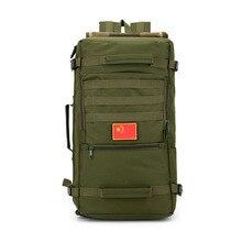 Multifunktionale Mann Reisetaschen Outside Rucksack Große Kapazität Männer Taschen Taktik Trekking Umhängetasche packung Militärische Rucksäcke