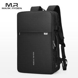 Mark Ryden Mann Rucksack Fit 17 Zoll Laptop USB Lade Multi-schicht Raum Reisetasche Business Männlichen Anti- diebstahl Mochila