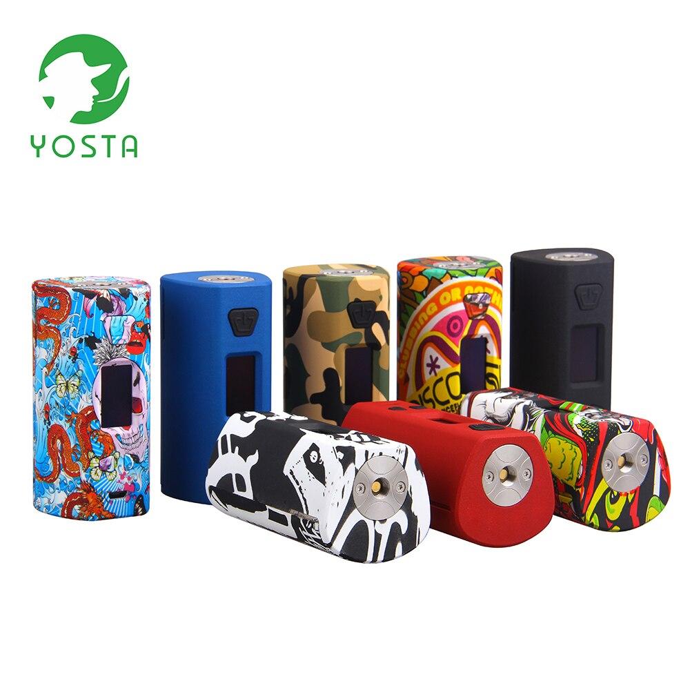 Yosta Livepor 200 W TC boîte Mod 510 fil PPS matériel mode Graffiti conception Cigarette électronique double 18650 batterie Vape Mod