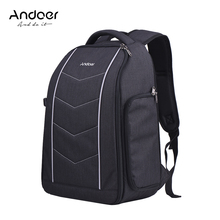 Профессиональный рюкзак для камеры Andoer, сумка для Canon, Nikon, Sony, DSLR, SLR, объектив, штатив, аксессуары для вспышки, рюкзак