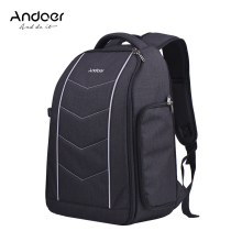 Andoer Professional Camera Backpack Bag for Canon Nikon Sony DSLR SLR Camera Lens Tripod Flash Accessories Bag Backpack