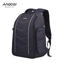 Andoer professionnel appareil photo sac à dos pour Canon Nikon Sony DSLR appareil photo reflex objectif trépied Flash accessoires sac à dos