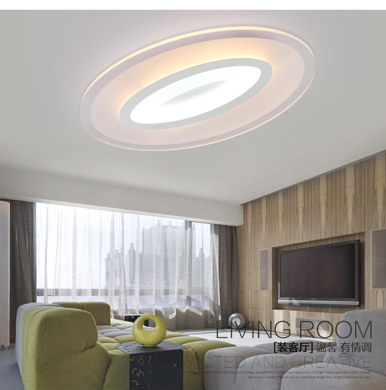 The new ultra-thin LED ceiling lights  home lighting business  Promise dimming toner Ceiling lamp the promise girls